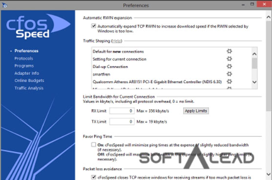 Download Cfosspeed 2019 for Windows