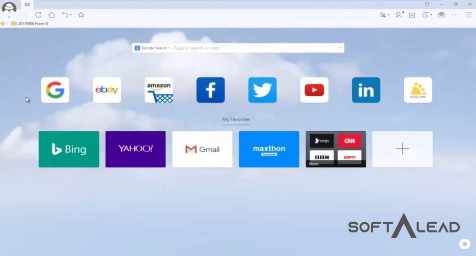Download Maxthon Cloud Browser 2019 for Windows