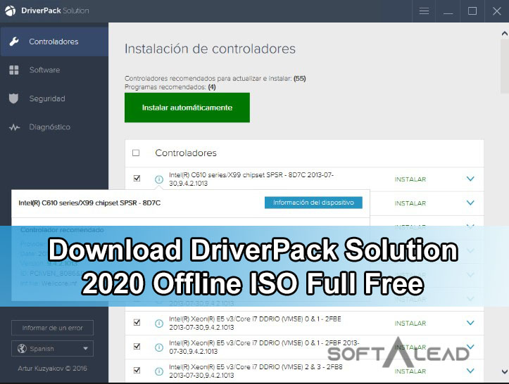 Download DriverPack Solution 2020 Offline ISO Full Free