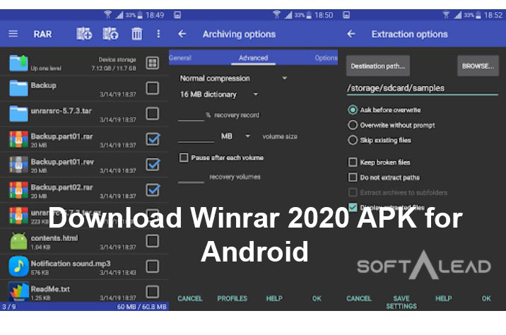 Download Winrar 2020 APK for Android