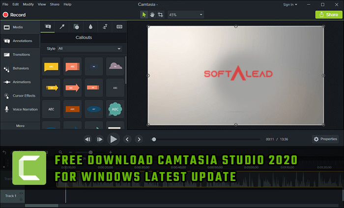 Download Camtasia Studio 2020 Latest Version