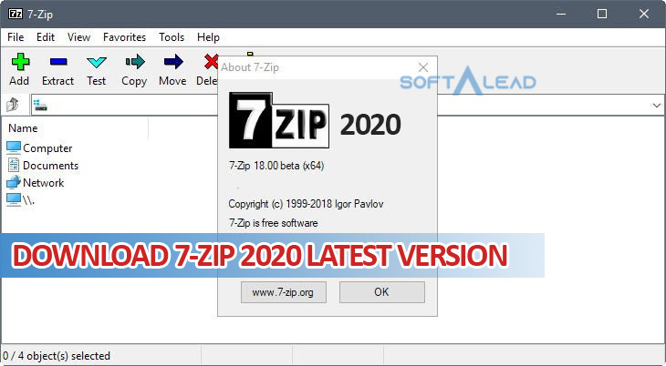 Download 7-ZIP 2020 for Windows