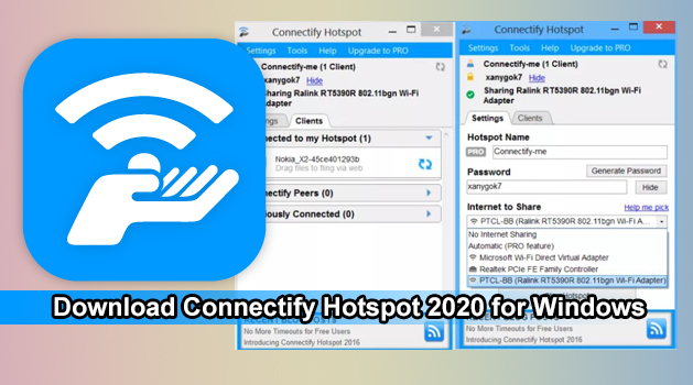 Download Connectify Hotspot 2020 for Windows