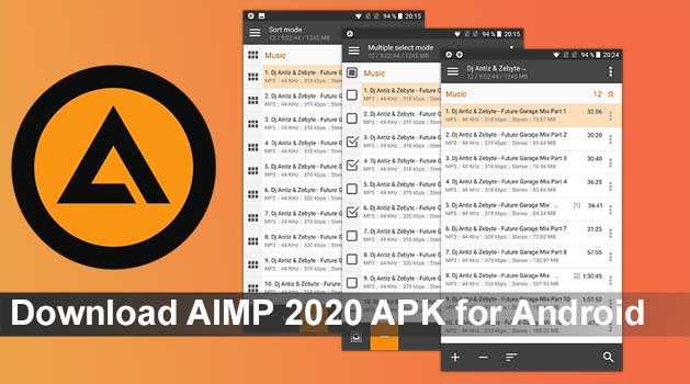 Download Latest AIMP 2021 APK for Android