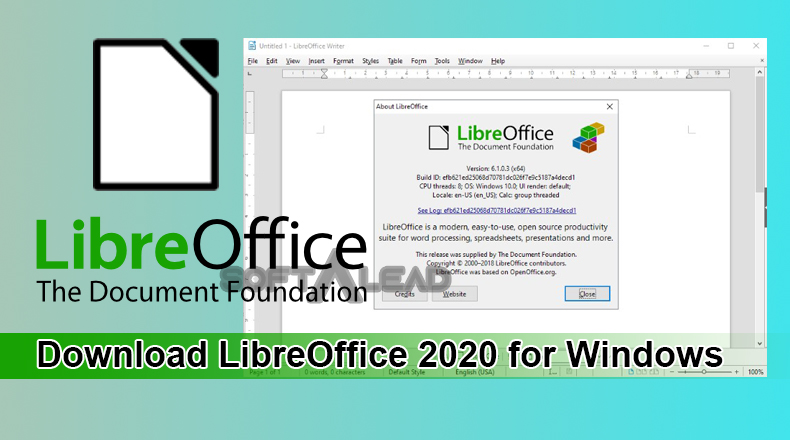 Download LibreOffice 2020 for Windows