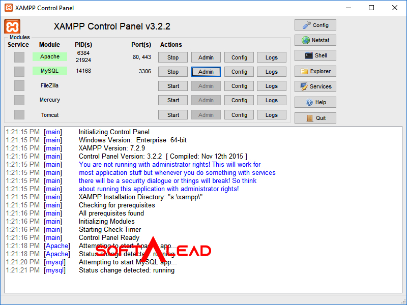 Download XAMPP 2021 Latest Version
