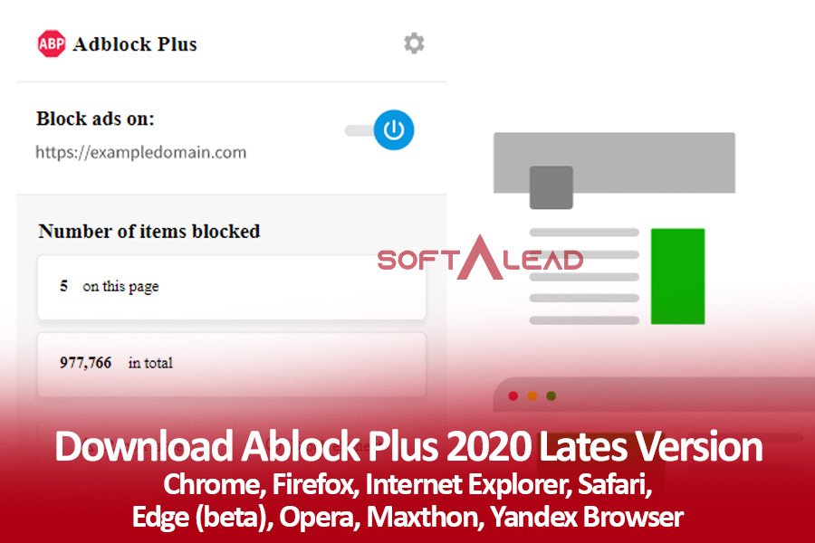 Download Adblock Plus 2021 for Chrome, Firefox, Opera