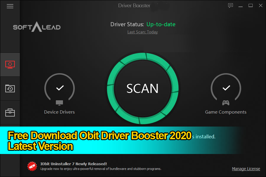 Download Iobit Driver Booster 2020 for Windows