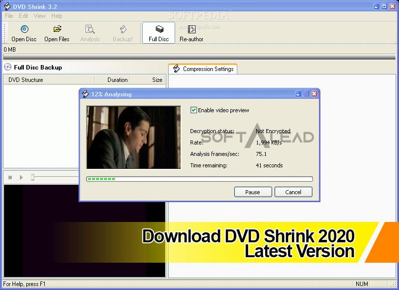 Download DVD Shrink 2021 Latest Version
