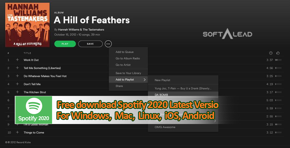 Download Spotify 2020 for PC