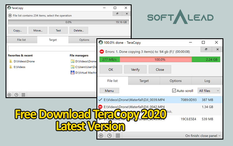 Download TeraCopy 2020 Latest Version