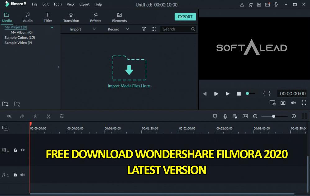 Download Wondershare Filmora 2020 for Windows