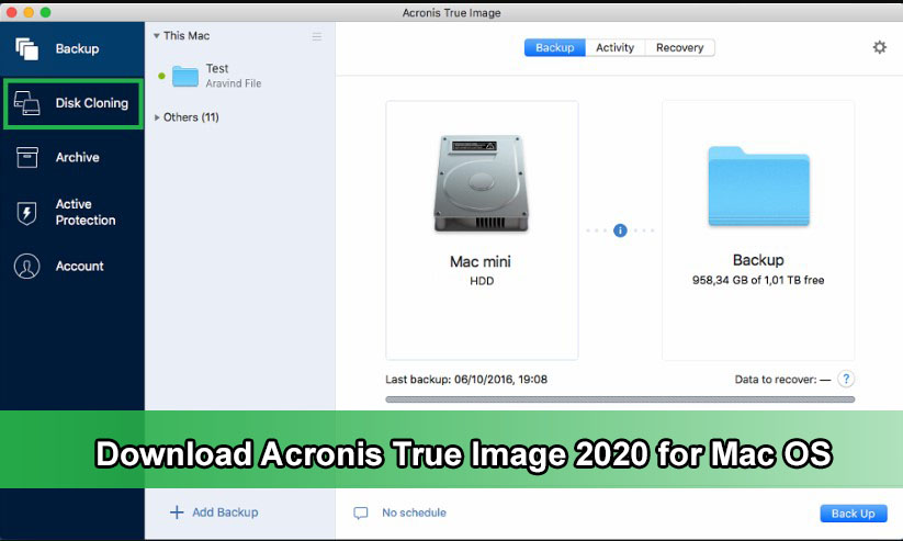 Download Acronis True Image 2020 for Mac OS