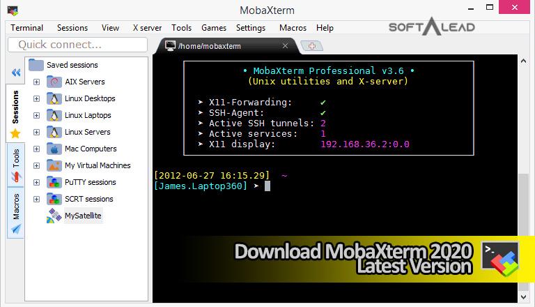 Download MobaXterm 2021 Latest Version