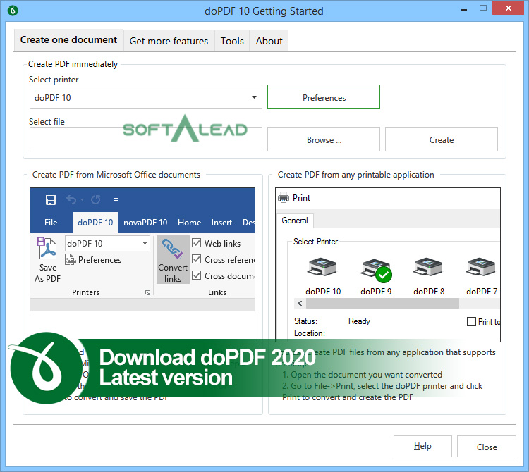Download doPDF 2020 Latest Version