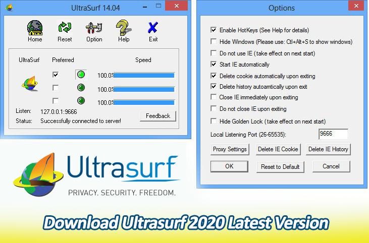Download Ultrasurf 2021 Latest Version