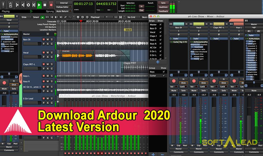Download Ardour 2020 Latest Version