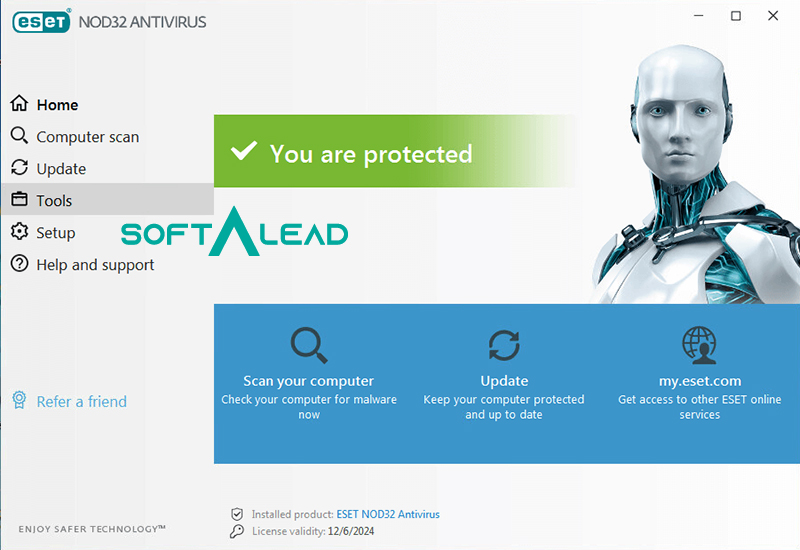 Download ESET NOD32 Antivirus for Windows
