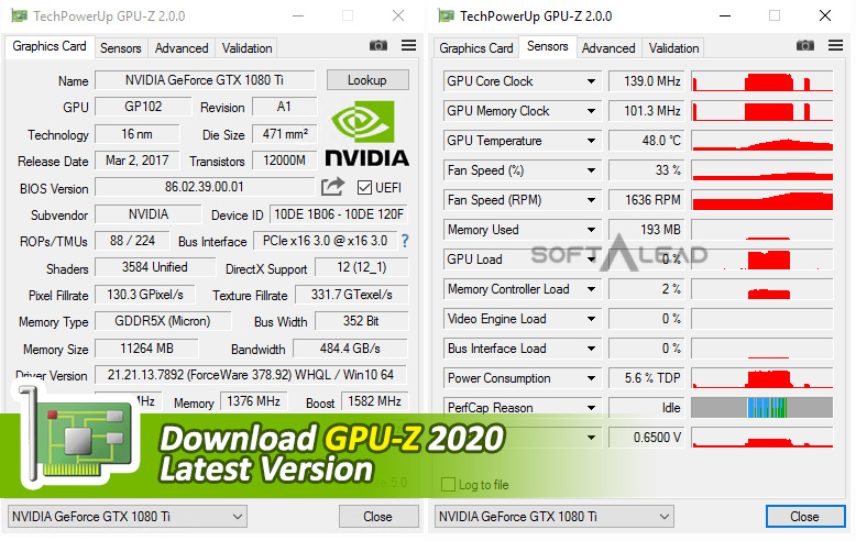Download GPU-Z 2020 Latest Version