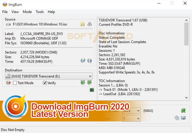Download imgburn latest version [windows & linux] filehippo.