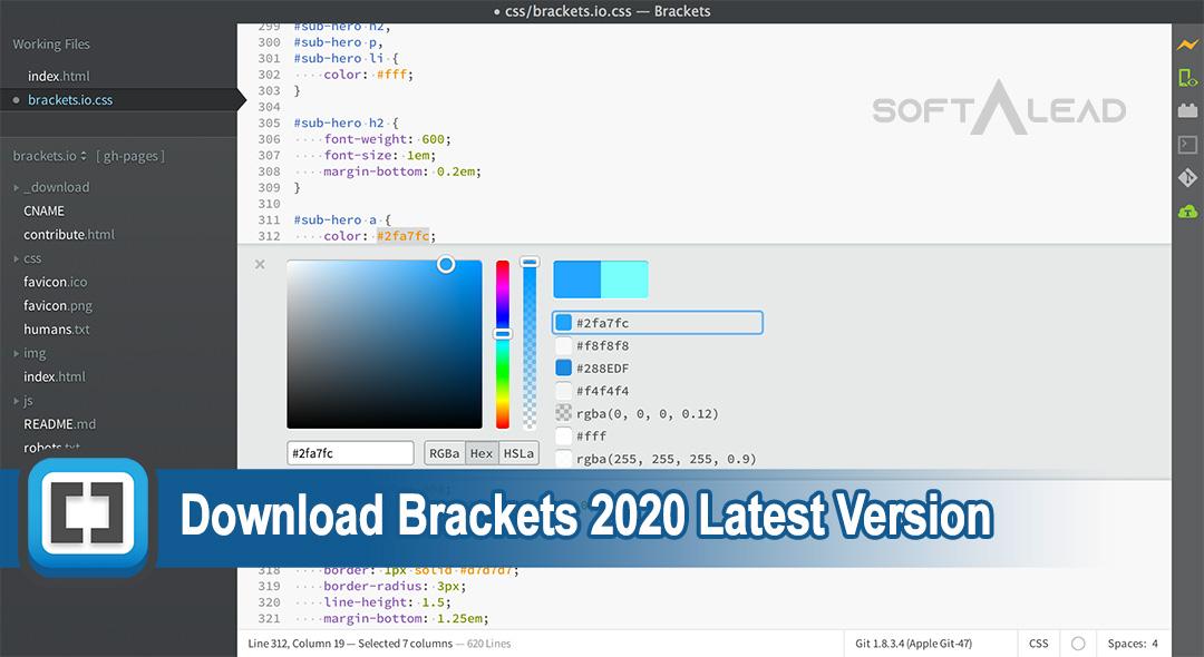 Download Brackets 2020 Latest Version