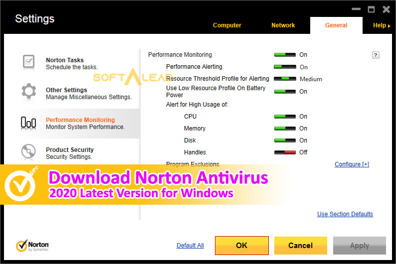 Download Norton Antivirus 2020 for Windows