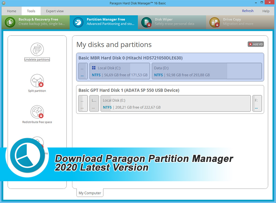 Download Paragon Partition Manager 2020 Latest Version