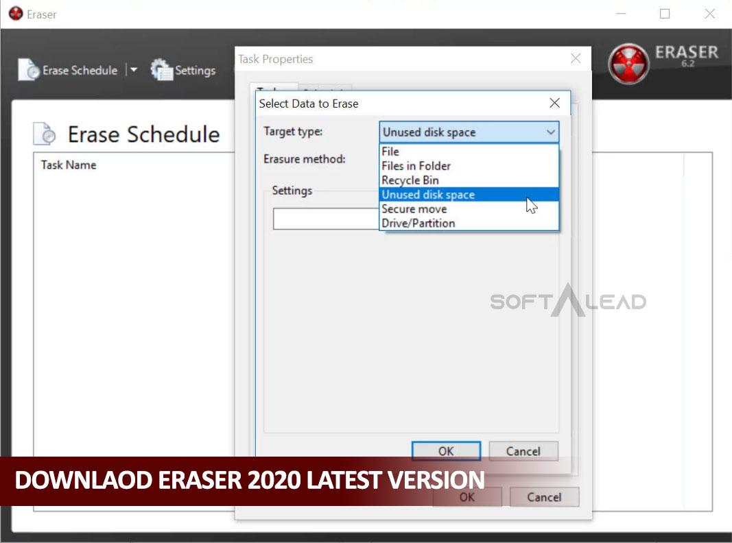 Download Eraser 2020 for Windows Latest Version