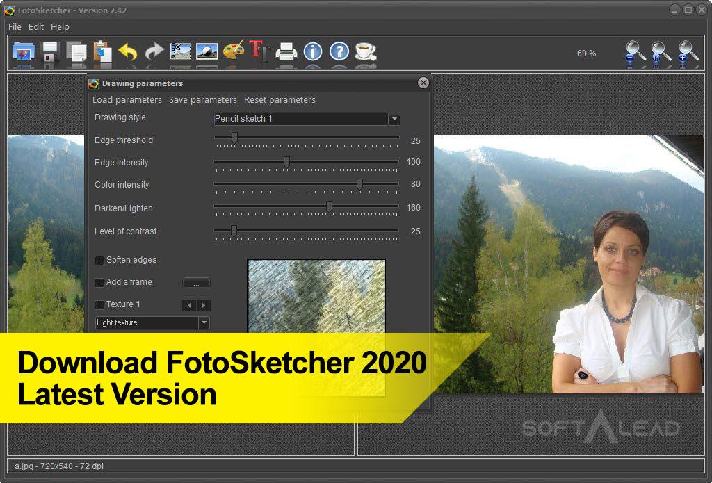 Download FotoSketcher 2020 Latest Version