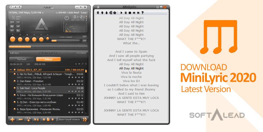 Download MiniLyrics 2021 Latest Version