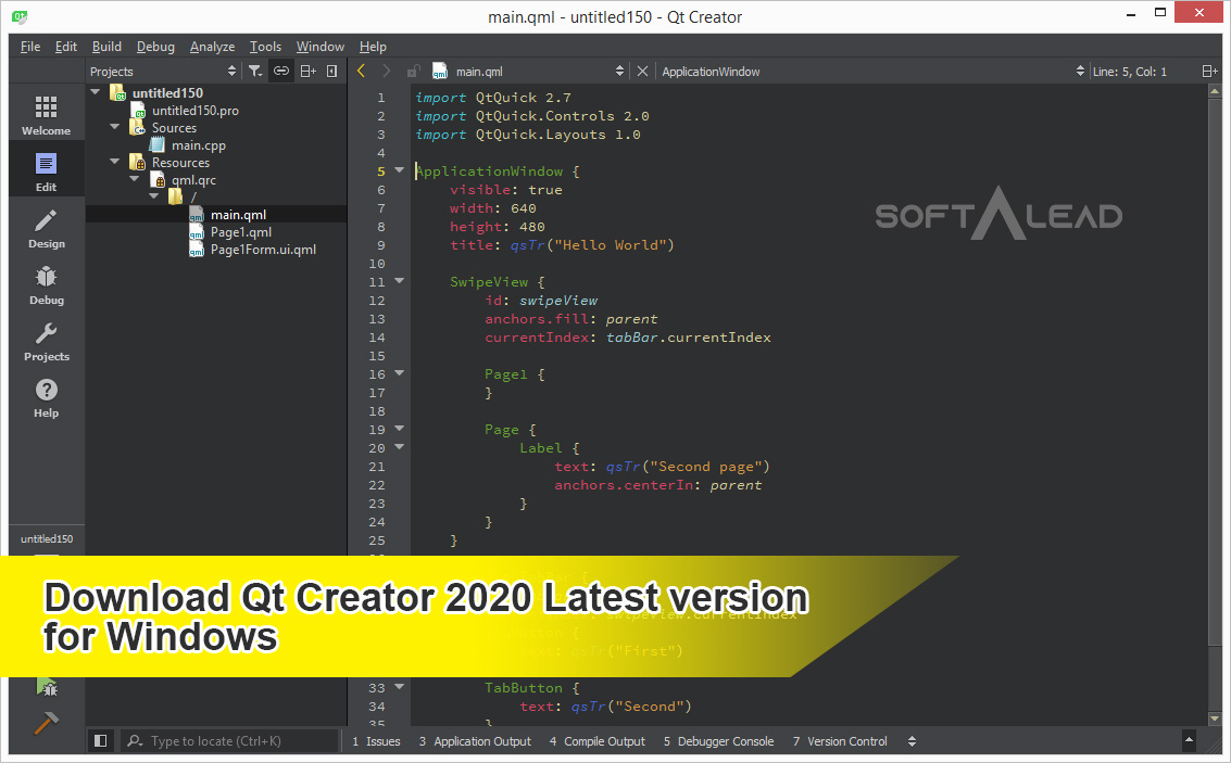 Download Qt Creator 2020 Lates Version