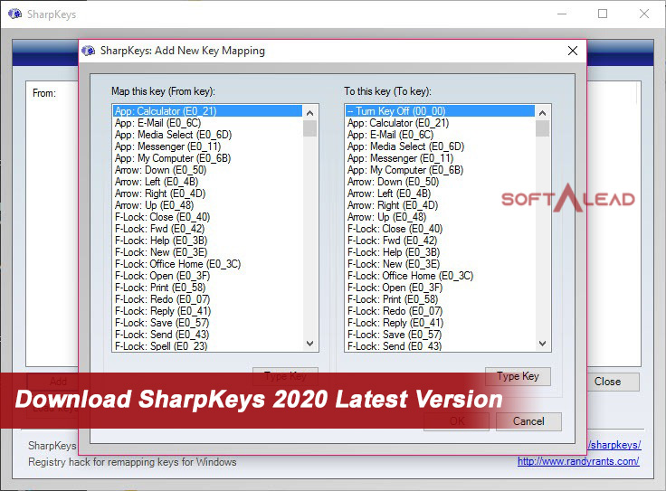 Download SharpKeys 2021 Latest Version