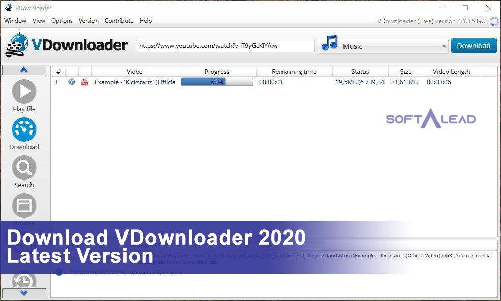 Download VDownloader 2021 Latest Version