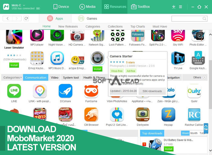 Download MoboMarket 2020 APK for Android