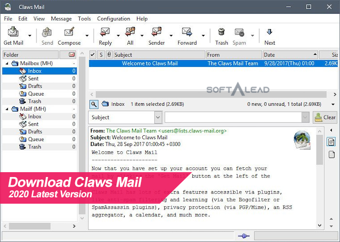 Download Claws Mail 2020 Latest Version