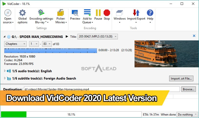 Download VidCoder 2020 Latest Version