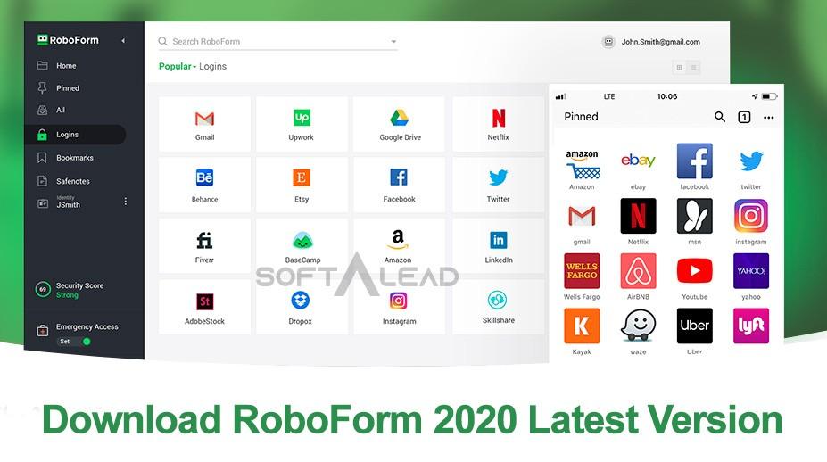 Download RoboForm 2020 Latest Version