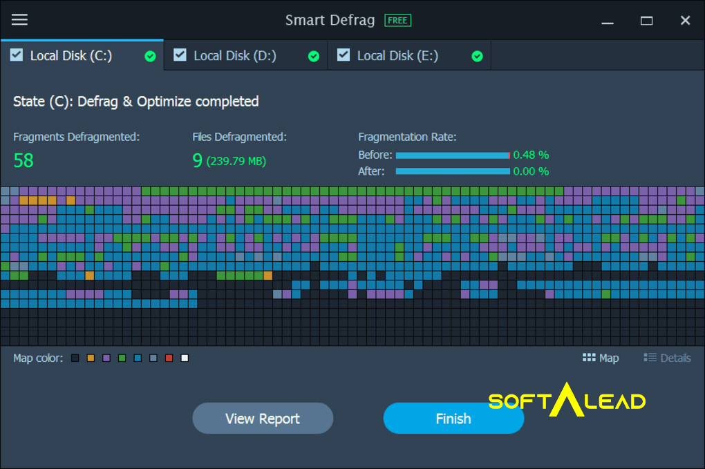 Download Smart Defrag 2021 for Windows