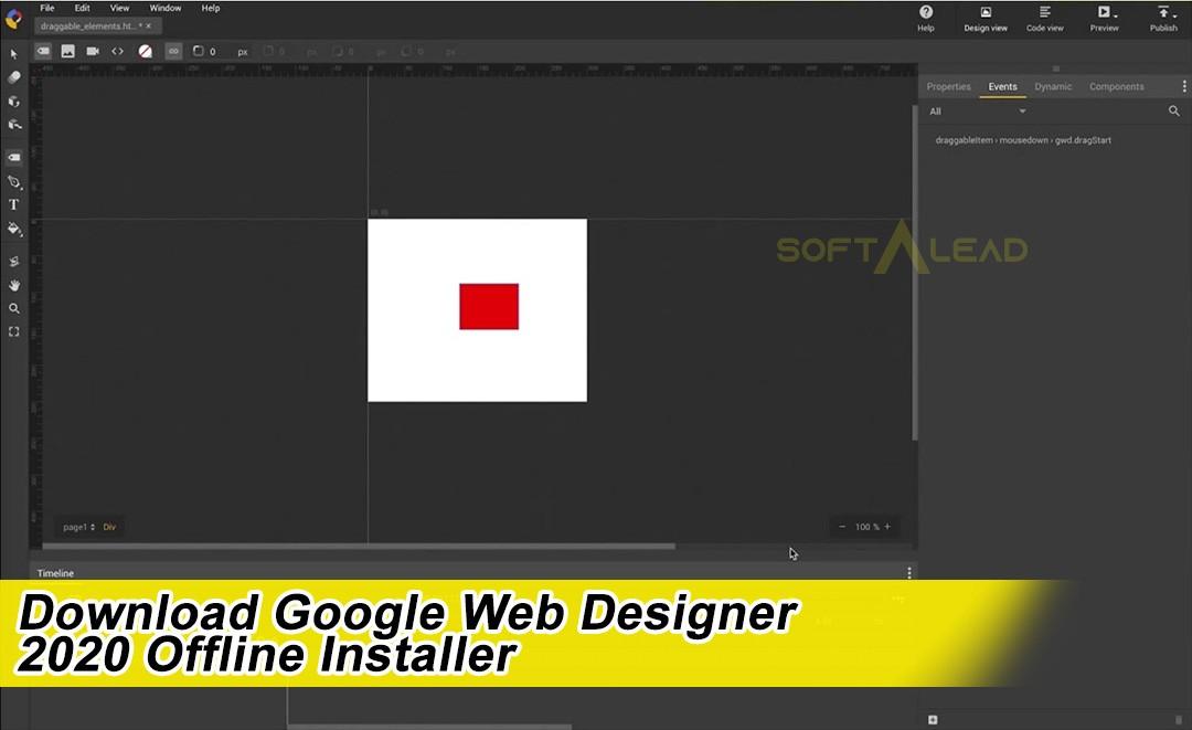 Download Google Web Designer 2020 Offline Installer Softalead