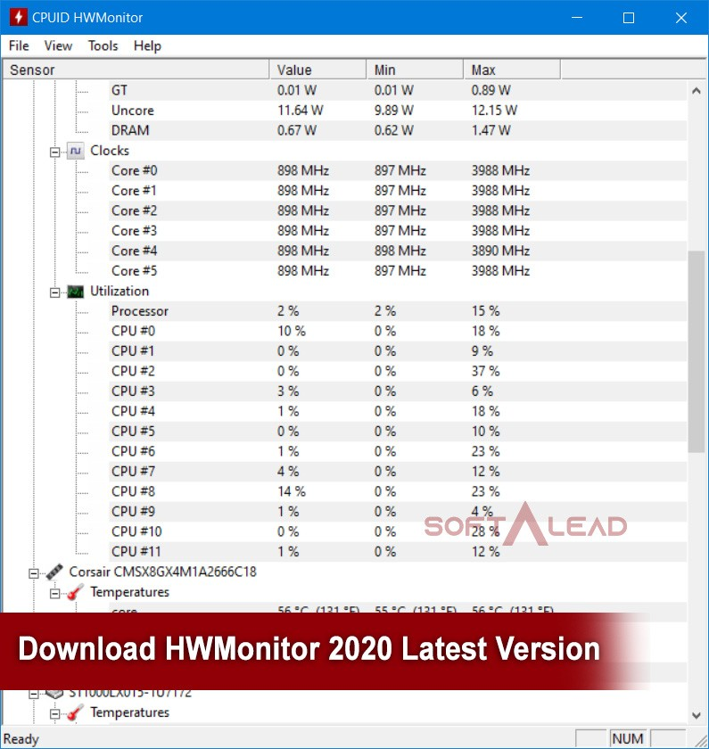 Download HWMonitor 2020 Latest Version