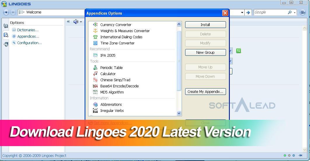Download Lingoes 2021 Latest Version