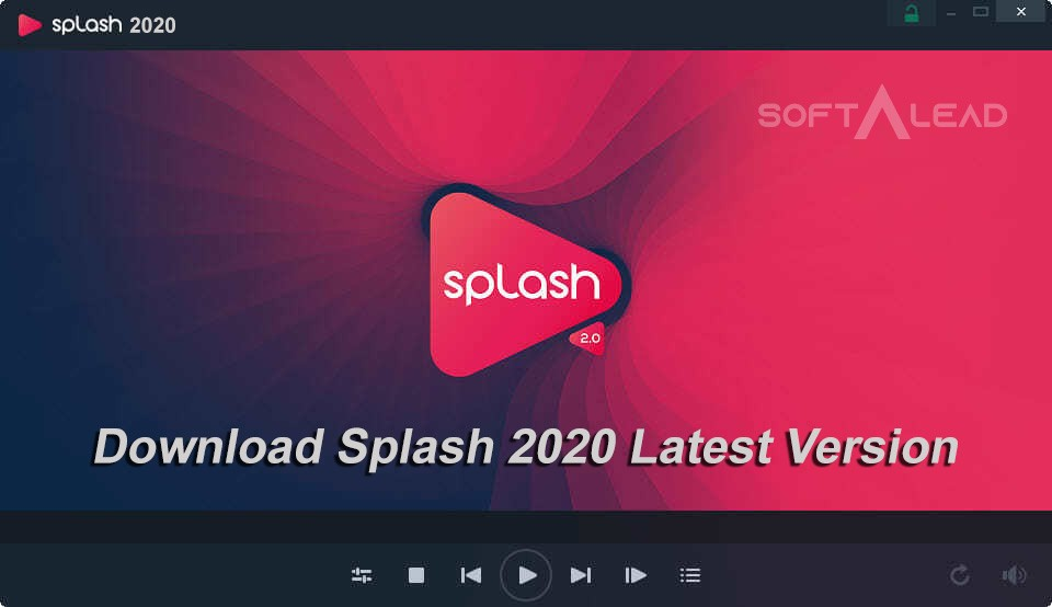 Download Splash 2020 Latest Version