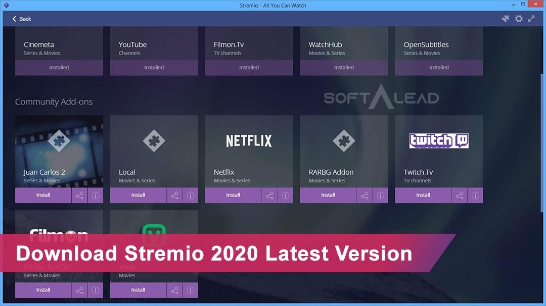 Download Stremio 2020 Latest Version