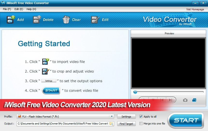 Download iWisoft Free Video Converter 2020