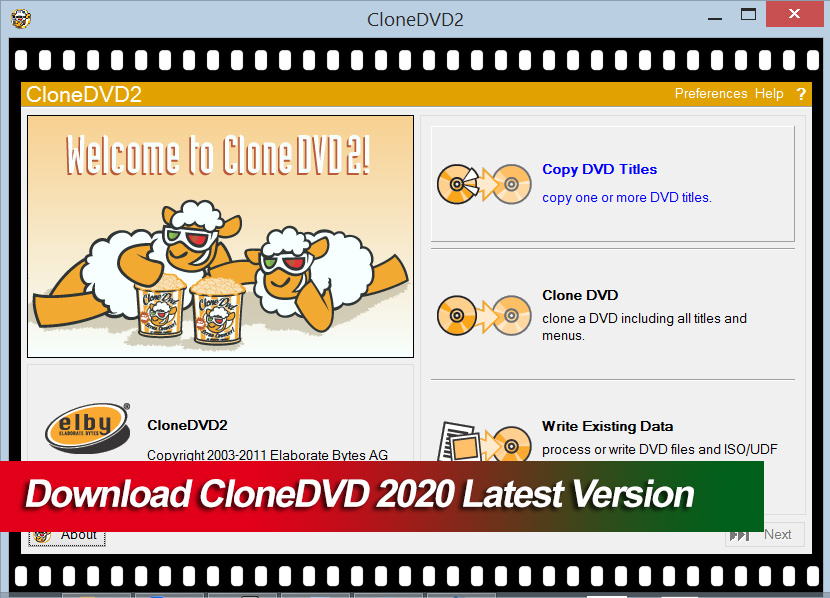 Download CloneDVD 2020 Latest Version