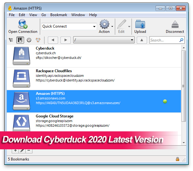Download Cyberduck 2020 Latest Version