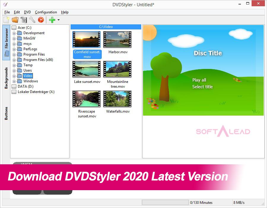 Download DVDStyler 2020 Latest Version