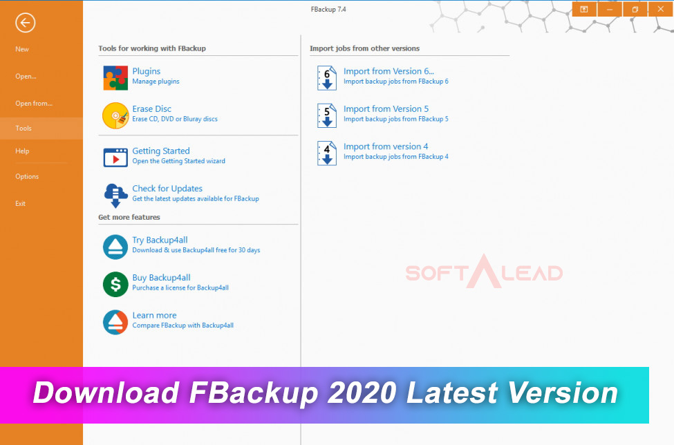 Download FBackup 2020 Latest Version