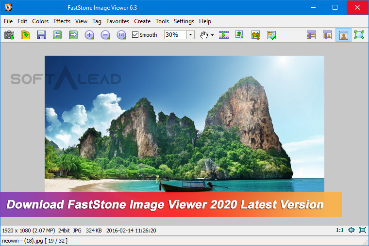 Download FastStone Image Viewer 2020 Latest Version