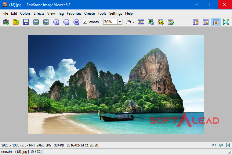 Download FastStone Image Viewer for windows